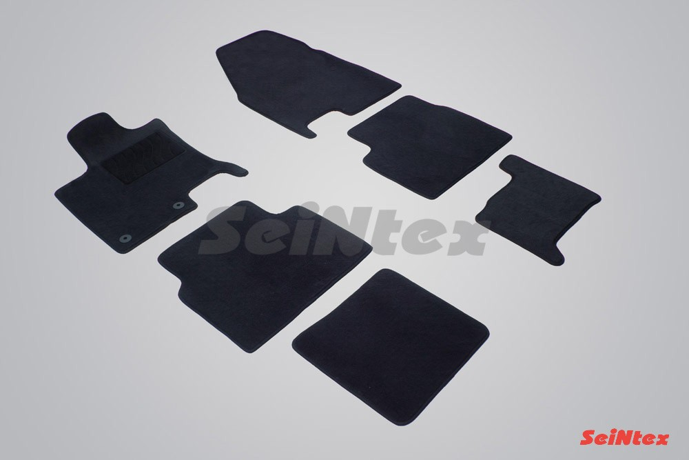 Коврики ворсовые в салон для Ниссан Кашкай +2 (Nissan Qashqai+2) (2008-2014)