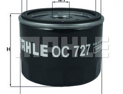 Фильтр масляный на Ниссан (Nissan) OC727_KNECHT (для дизеля)