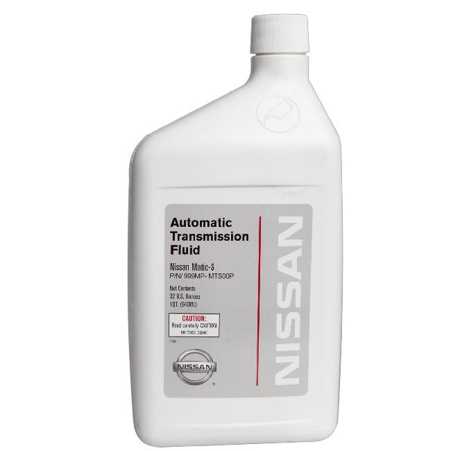 Масло трансмиссионное синтетическое 946мл  NISSAN AT-Matic S 999MPMTS00P