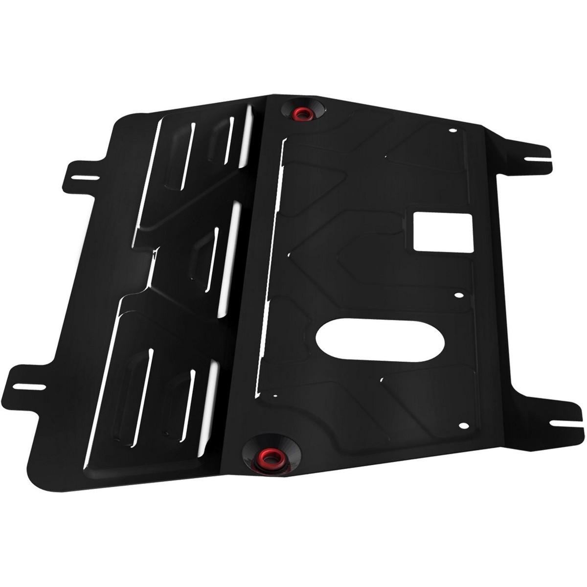 Защита картера и КПП Автоброня для Nissan Qashqai V - 1,6; 2,0 (2006-2014)