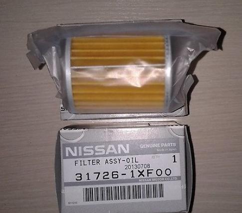 Фильтр масляный маслоохладителя коробки передач Nissan 317261XF00