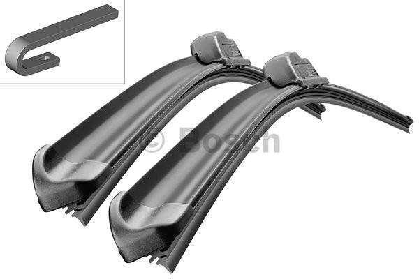 Щетки стеклоочестителя комплект 2 шт BOSCH 600/400 мм Aerotwin Retro A601S Nissan