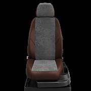Автомобильные чехлы из экокожи и алькантары для Ниссан Джук ( Nissan Juke F15) с 2010-
