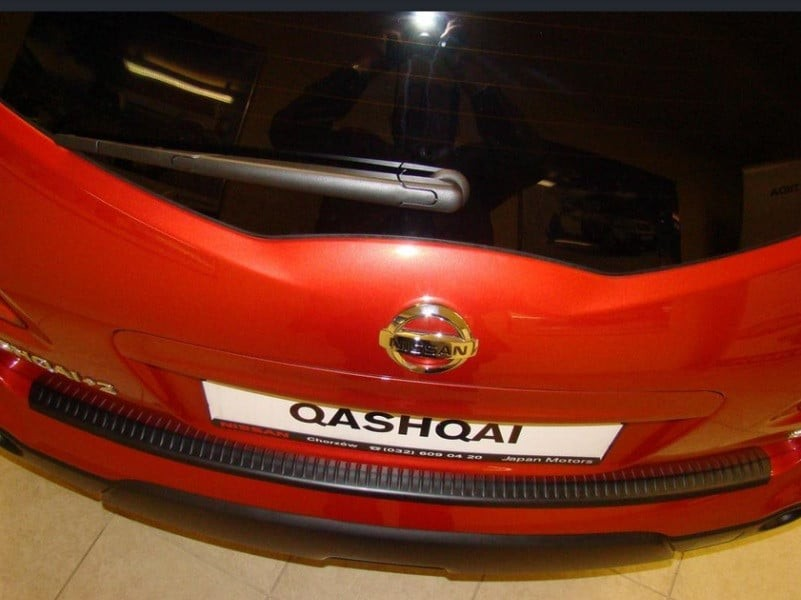 Накладка заднего бампера Rider N-0008 для NISSAN Qashqai+2 (J10) 2010-