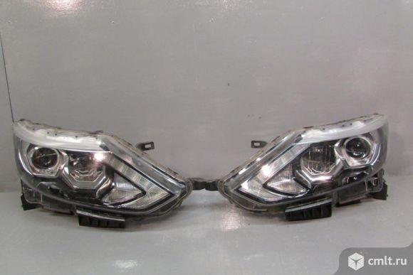 Фара передняя левая (галоген) Ниссан Кашкай (Nissan Qashqai J11) (2014-)