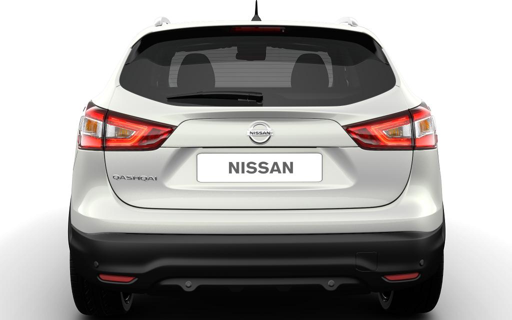 Фонарь задний правый в крышку на Ниссан Кашкай (Nissan Qashqai J11) (2014-)